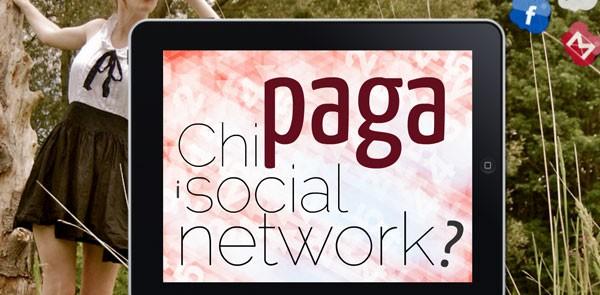 Chi paga i social network?